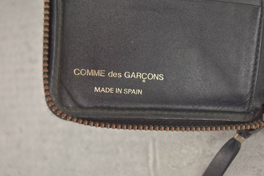 COMME des GARCONS / Black Dot Folding Wallet