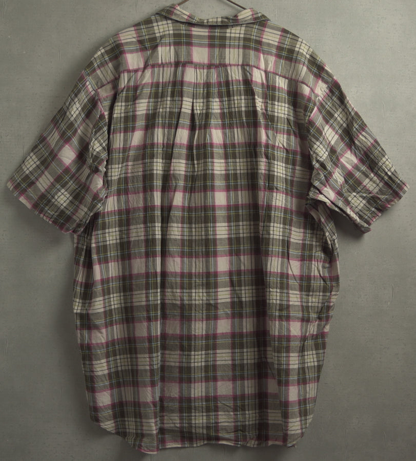 COMME des GARCONS HOMME / Big Sizing Check Shirt