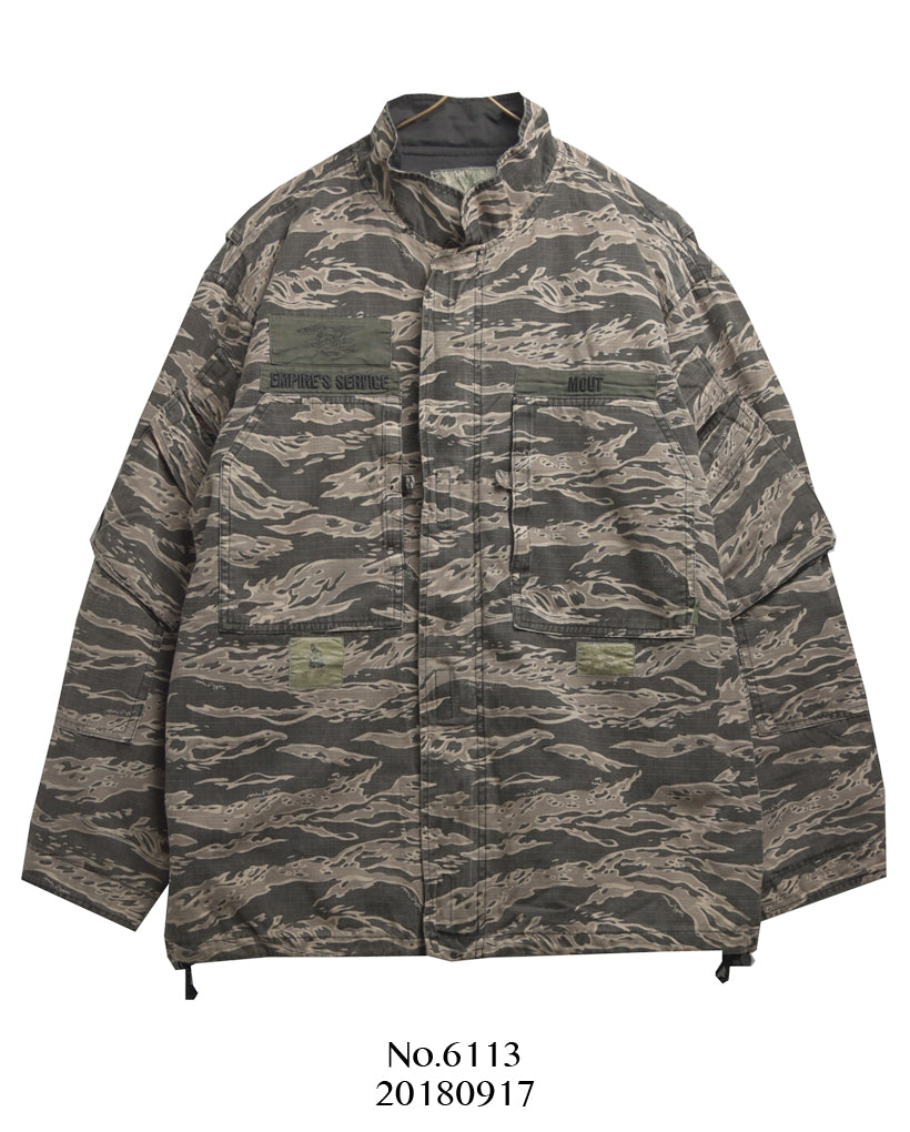 WTAPS / Military Tiger Camo M-65 Jacket