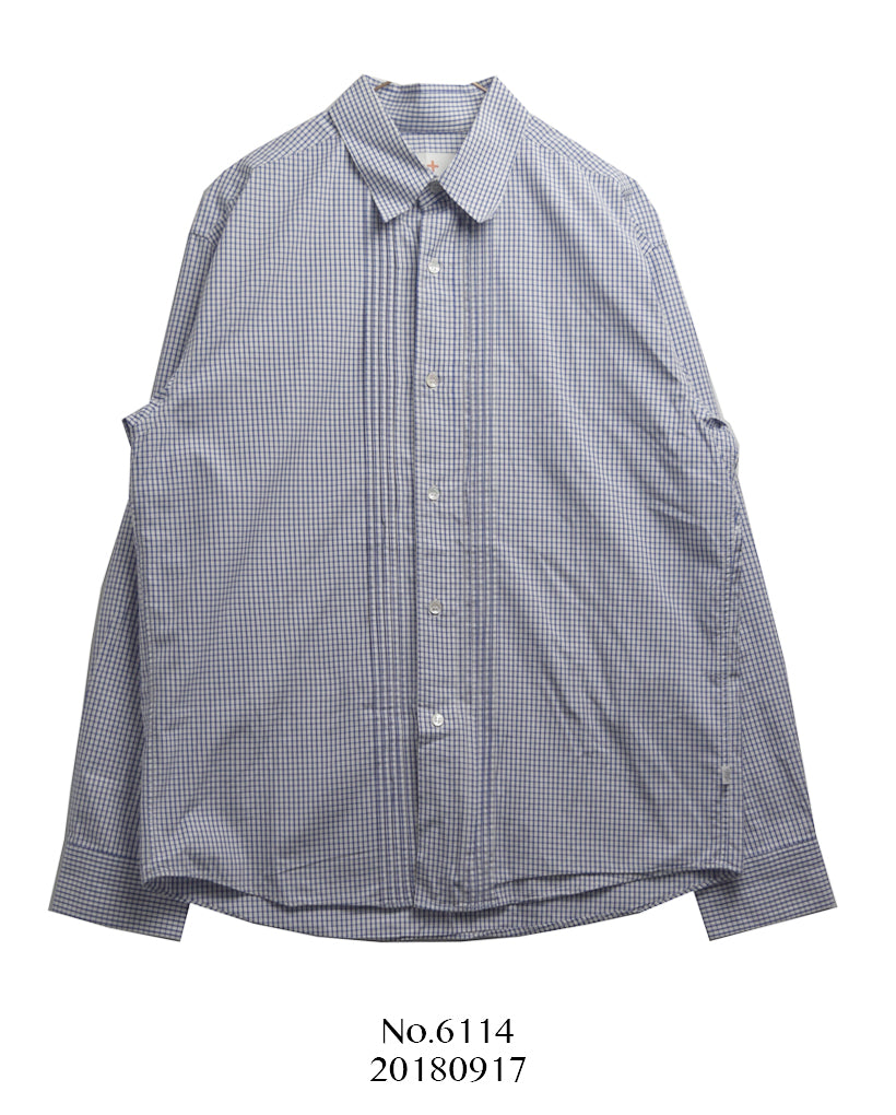 HEAD POERTER PLUS / Gingham Check Shirt