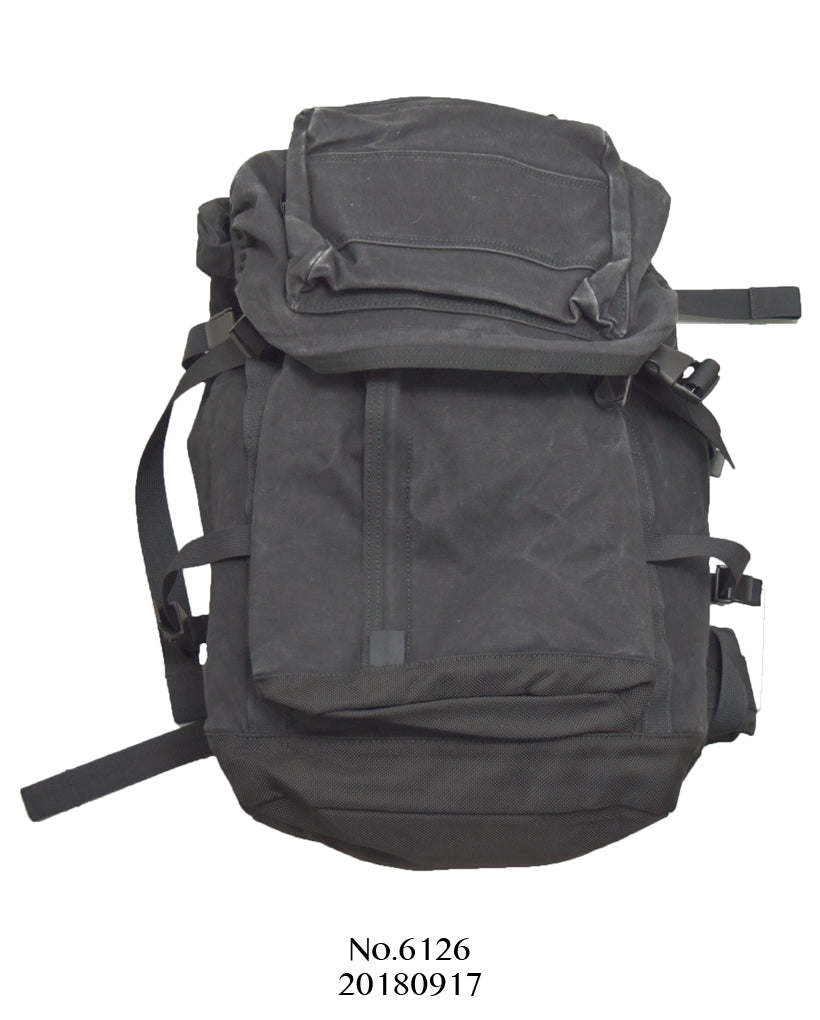 PORTER / Black Big Backpack