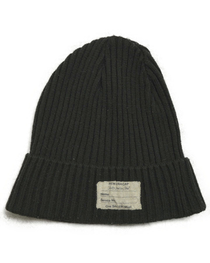 HEAD POERTER PLUS / Black Knit Cap