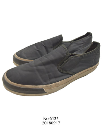 UNDERCOVER / Black Nylon Slip-on