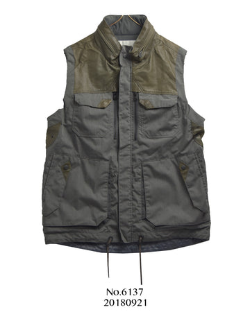 WHITE MOUNTAINEERING / Grey Outdoor Vest