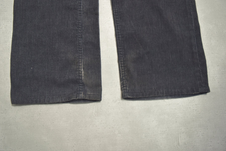 NUMBER(N)INE / Black Corduroy Trousers