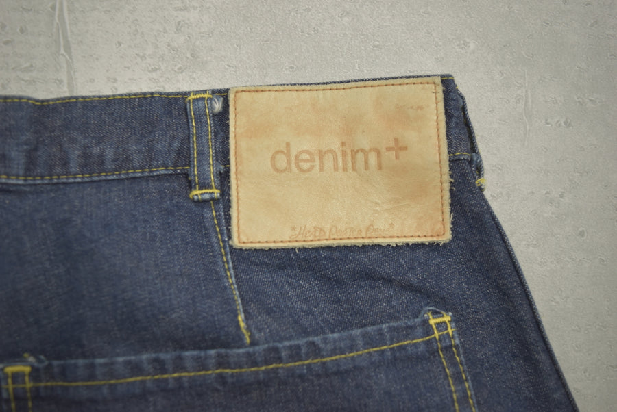 HEAD PORTER PLUS / Denim Painter Pants