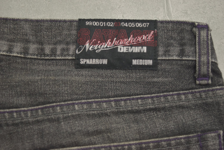 NEIGHBORHOOD / Savage Denim Cargo Pants