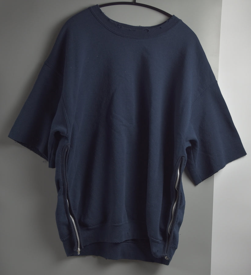 Sasquatchfabrix. / Side Zip Cut off Sweat Shirt