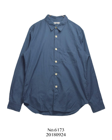 COMME des GARCONS HOMME / Navy Long Sleeve Shirt