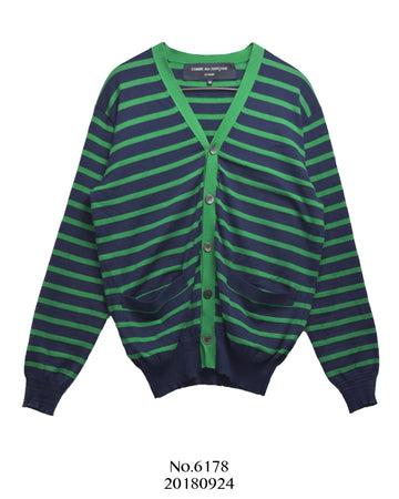 COMME des GARCONS HOMME / Vivid Color Border Sweater
