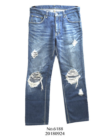 NUMBER(N)INE / Damage Denim Pants