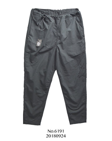 PORTER CLASSIC / Black TYPEWRITER PANTS