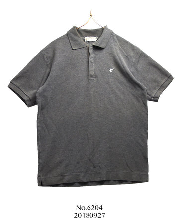 BAPE / Grey Polo Shirt
