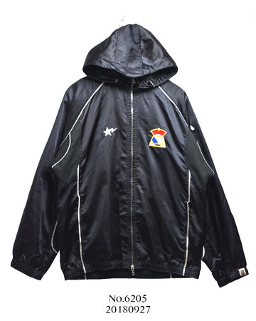 BAPE / Nylon Hooded Jacket