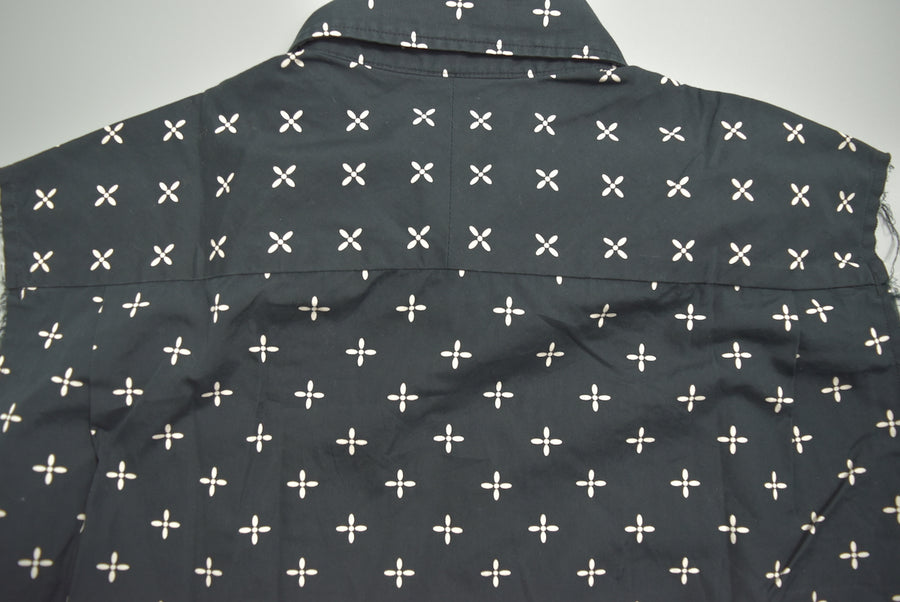 NUMBER(N)INE / Sleeveless Cross Shirt