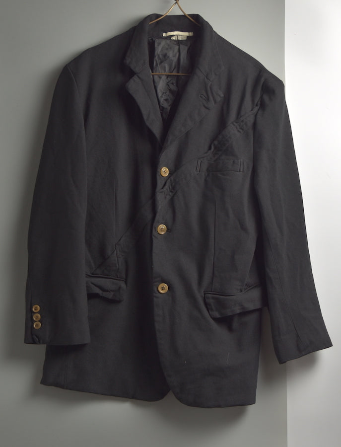 COMME des GARCONS HOMME PLUS / Twisted Tailored Jacket