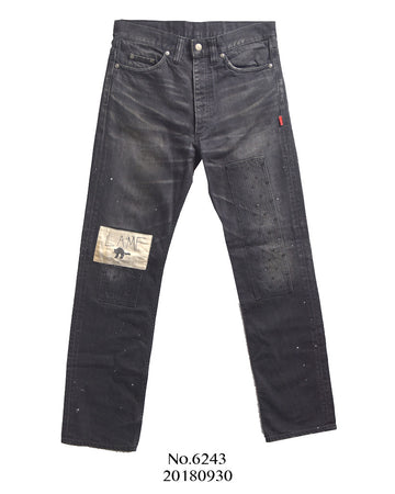 WTAPS / LAMF Damage Denim Pants