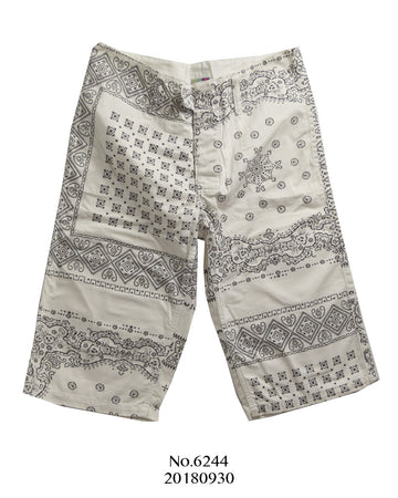 FACETASM / Paisley Graphic Short Pants