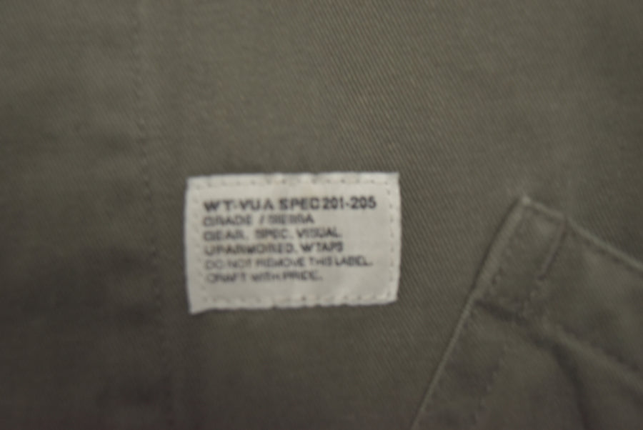 WTAPS / Factory Jacket Coat