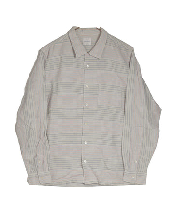 GOODENOUGH / Strype Border Shirt