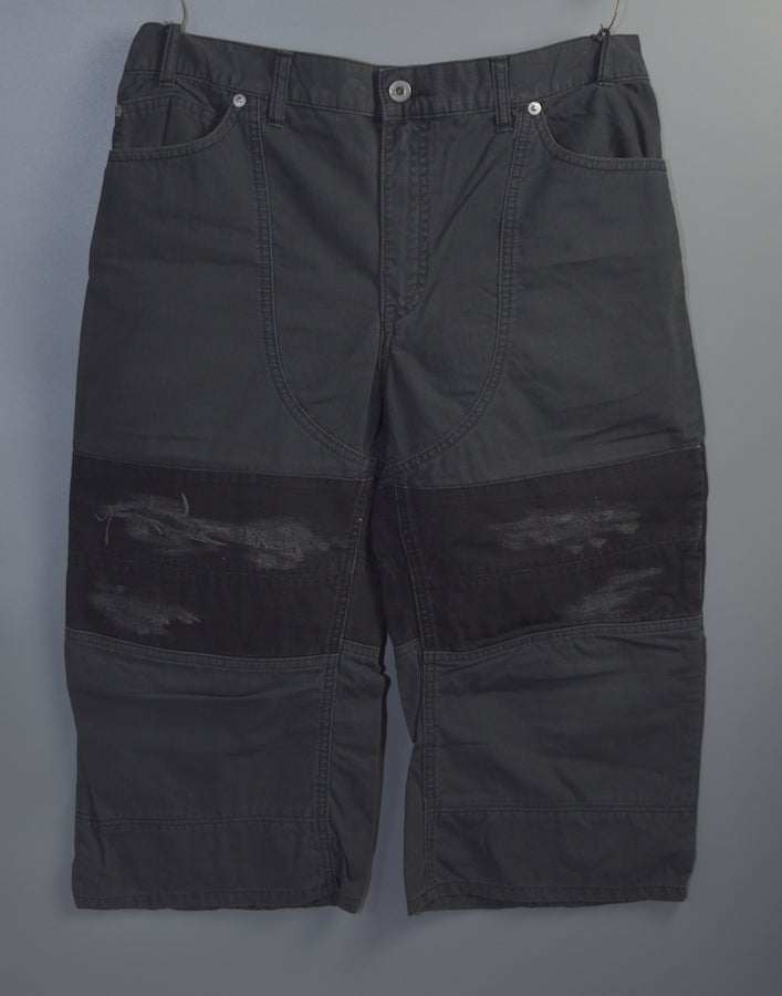 NEIGHBORHOOD / Damaged Cropped Pants