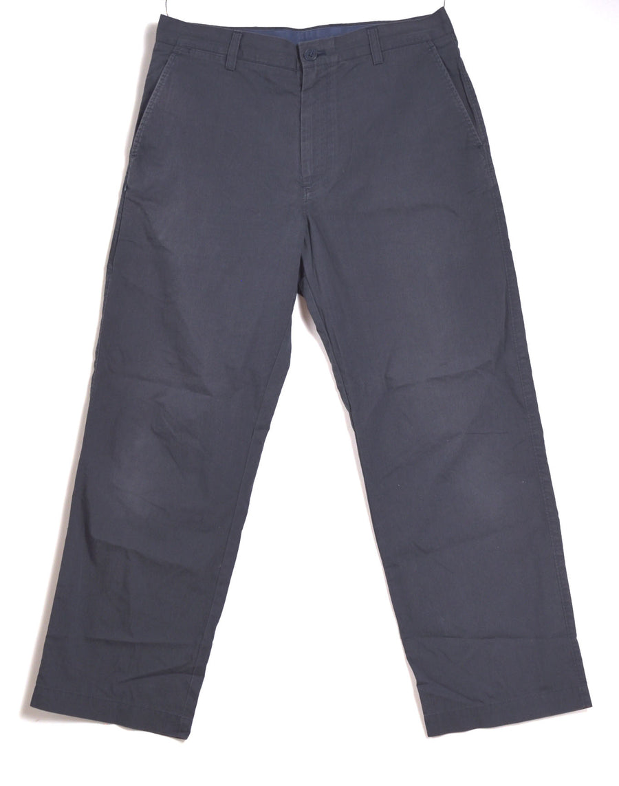 HEAD PORTER PLUS / Black Chino Pants