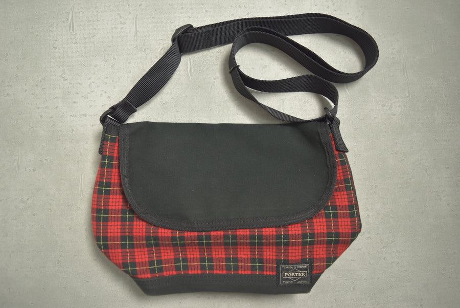 PORTER / Tartan Check Shoulder Bag