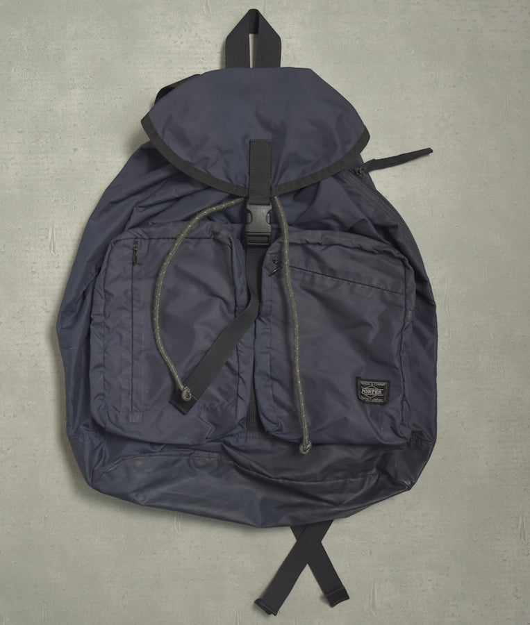 PORTER / Navy Nylon Backpack