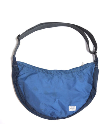 PORTER / Blue Nylon Shoulder Bag
