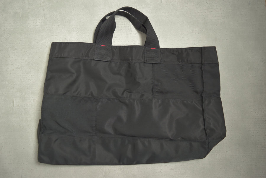PORTER / Black Nylon Tote Bag