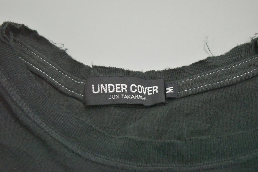 UNDERCOVER / Christmas Isetan Limited Black Cross Cutsew