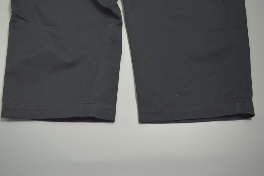 HEAD PORTER PLUS / Black Cropped Pants