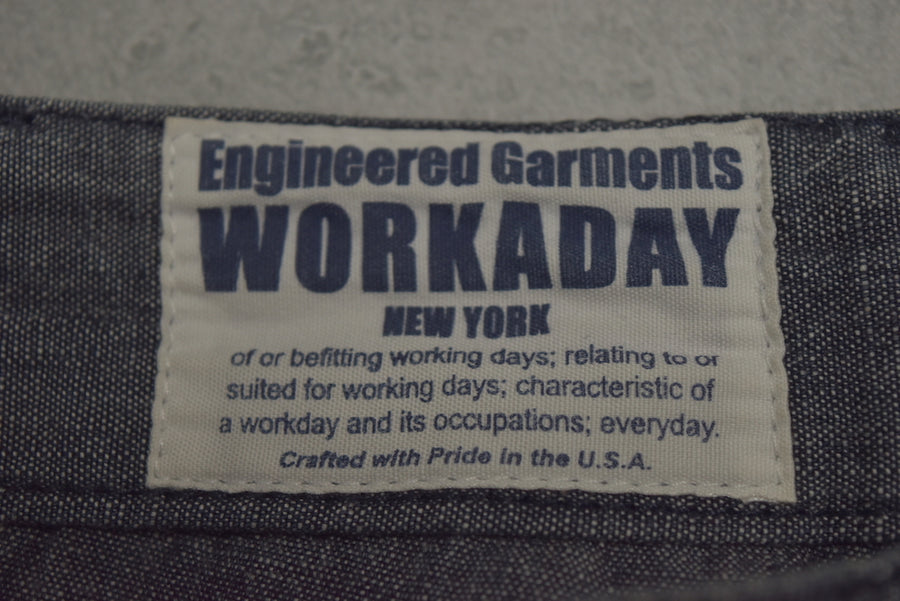 Engineered Garments / Grey Baker Pants