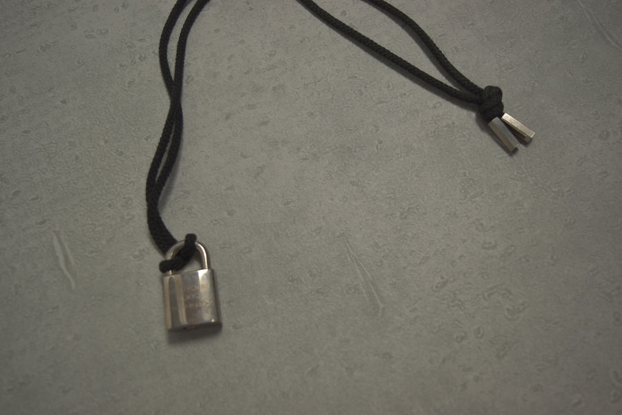 HEAD PORTER / Sid Padlock Necklace