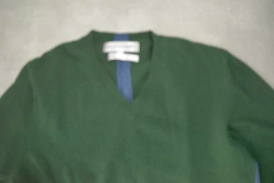 COMME des GARCONS / Bicolor Docking Sweater