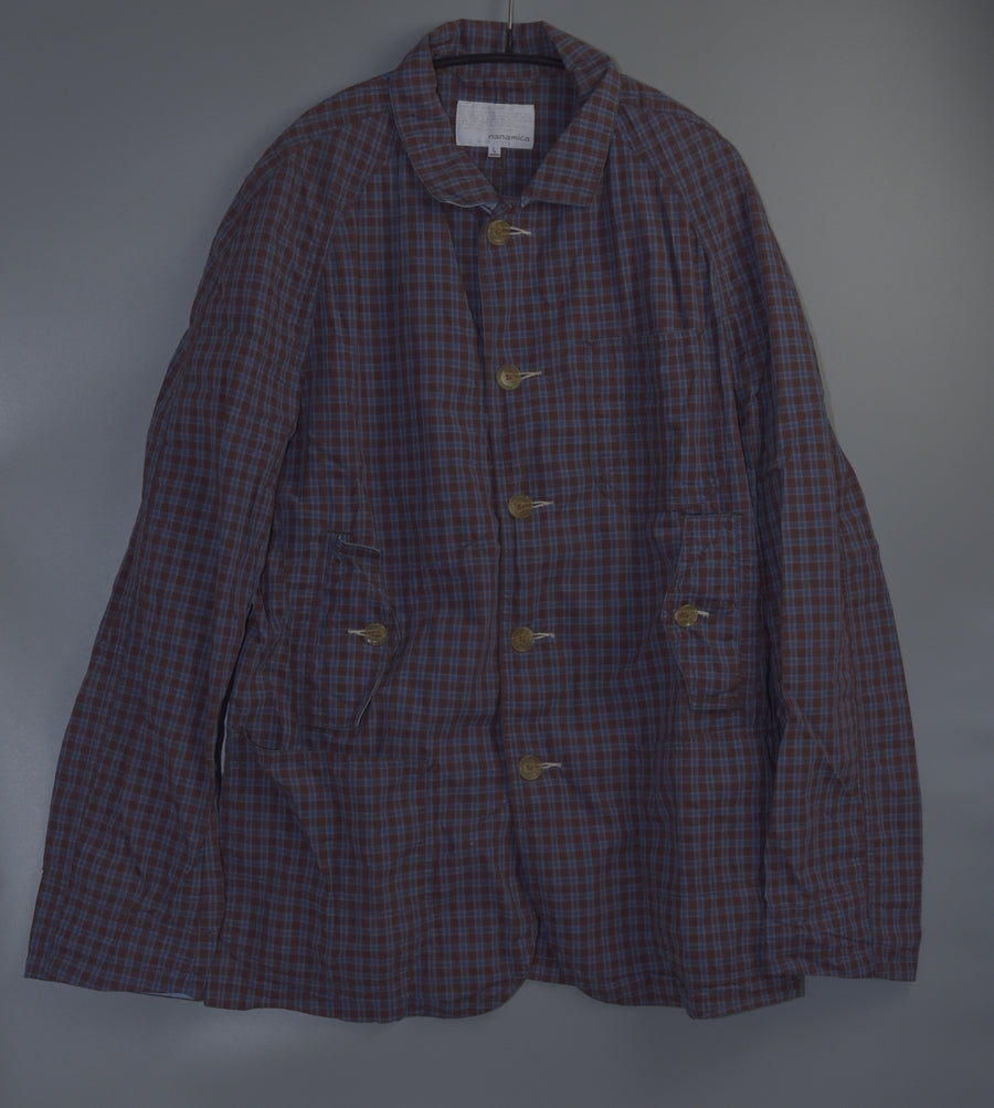 nanamica / Check Design Cotton Jacket
