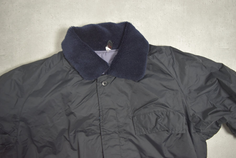 vintage / Japan Railway set-up Worker Jacket