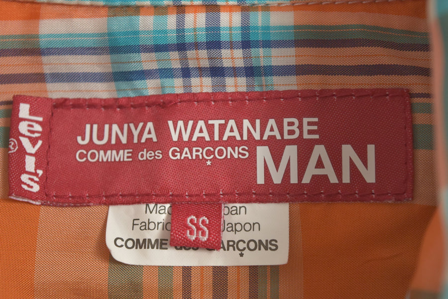 JUNYA WATANABE MAN COMME des GARCONS / Reversible Tailored Jacket & Check Blouson