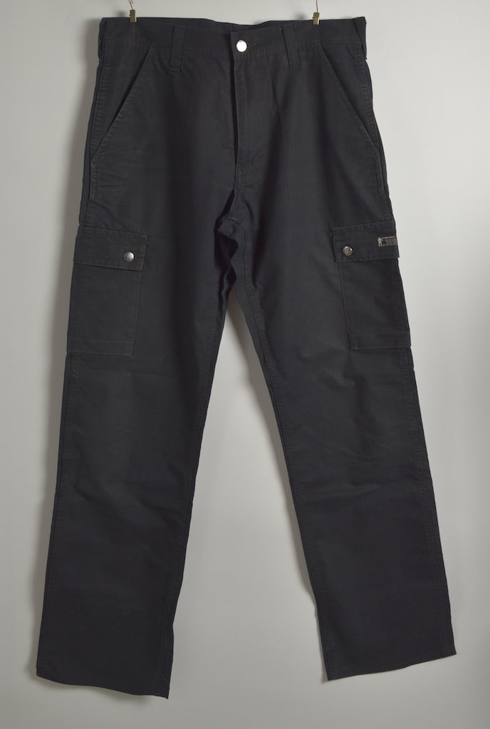 BAPE / Black Cotton Cargo Pants
