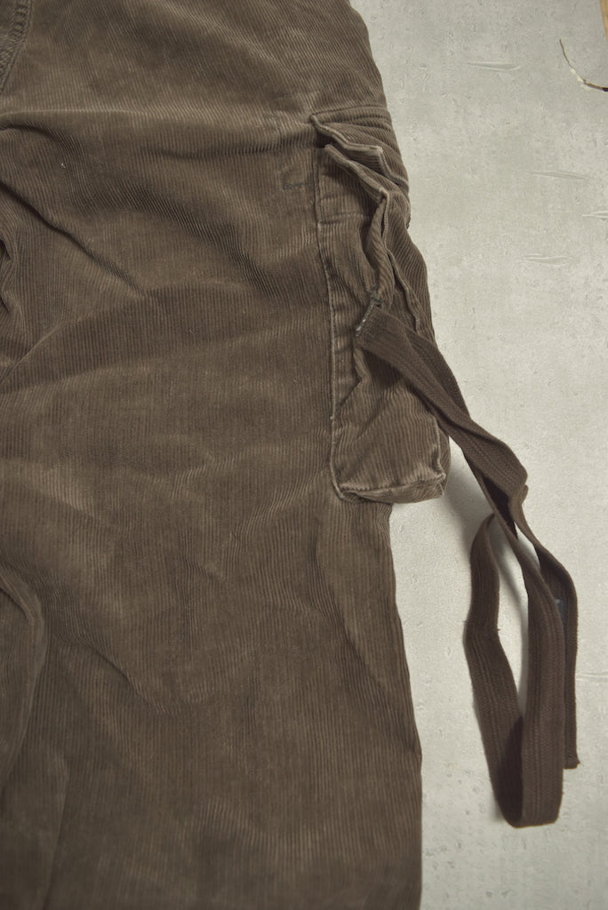 NEIGHBORHOOD / Brown Corduroy Cargo Pants