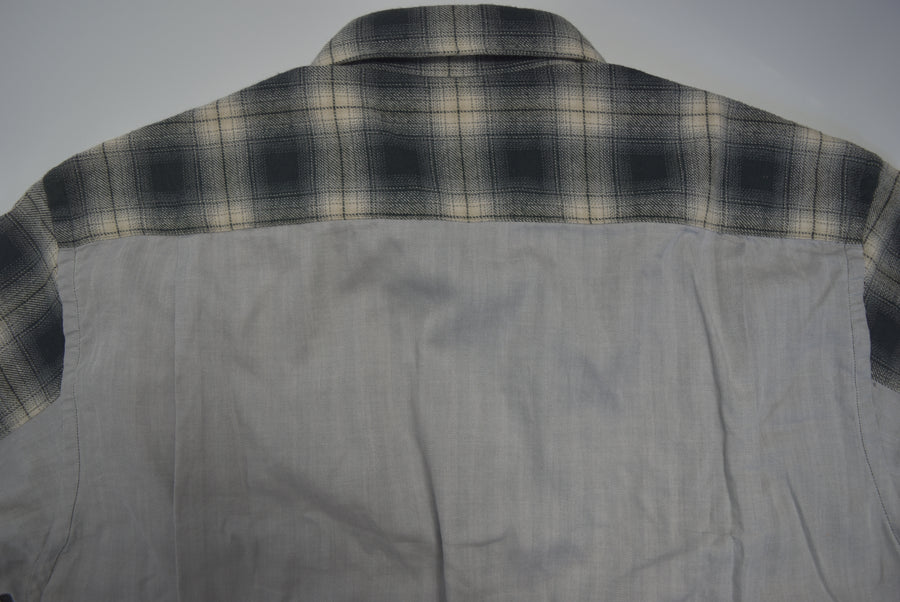 COMME des GARCONS HOMME / Shadow Ombre Check Shirt