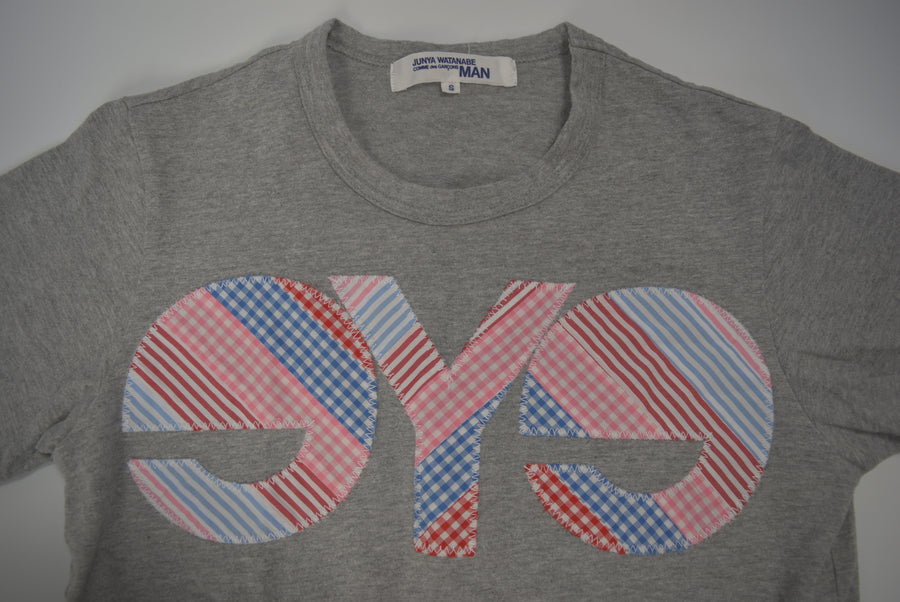 JUNYA WATANABE MAN COMME des GARCONS / eYe Check Logo T-shirt