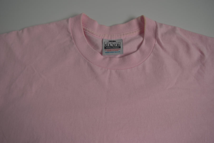 vintage / Pink Cotton T-shirt