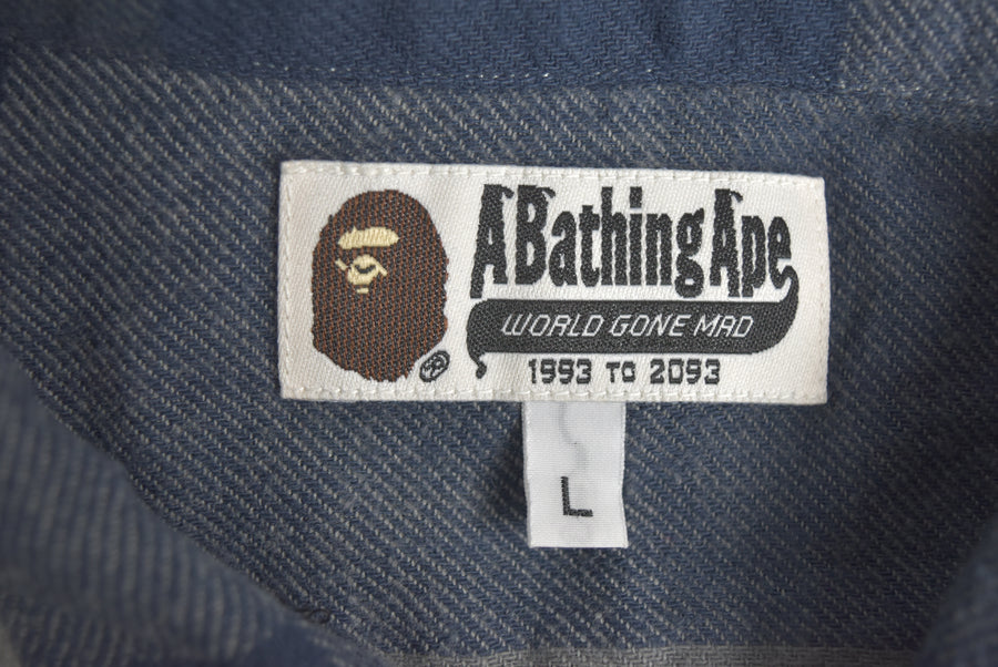 BAPE / Bufflo Check Nel Shirt