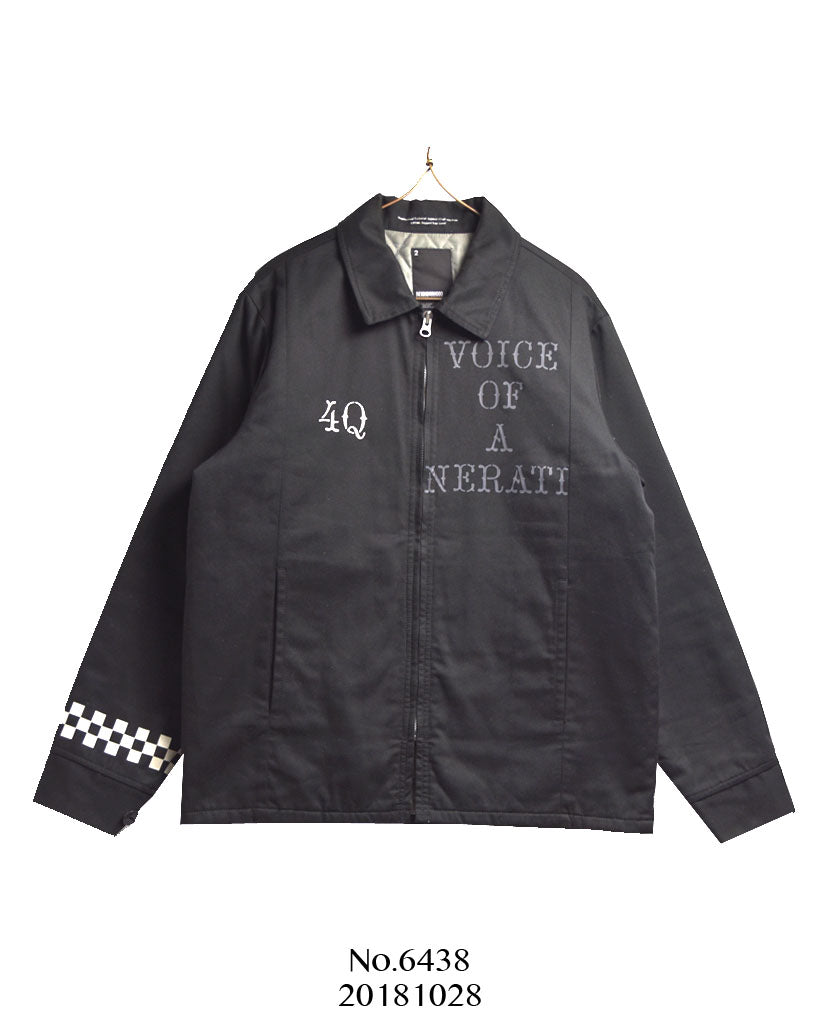 NEIGHBORHOOD / Black Riders Print Blouson