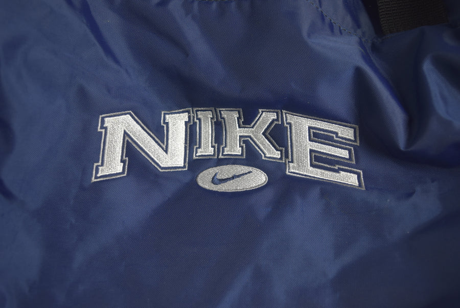 NIKE / Navy Logo Drum Bag