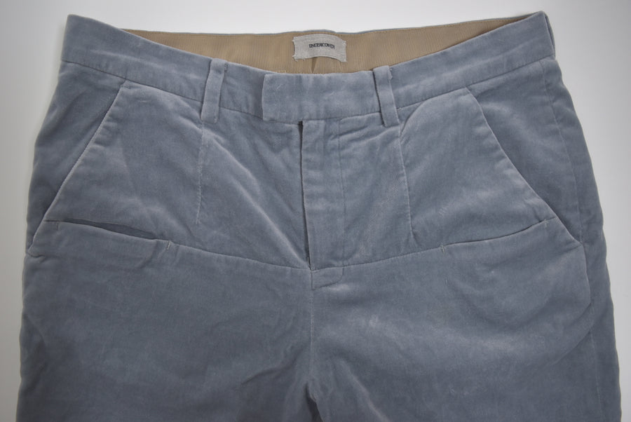 UNDERCOVER / Velor Cropped Slack Pants