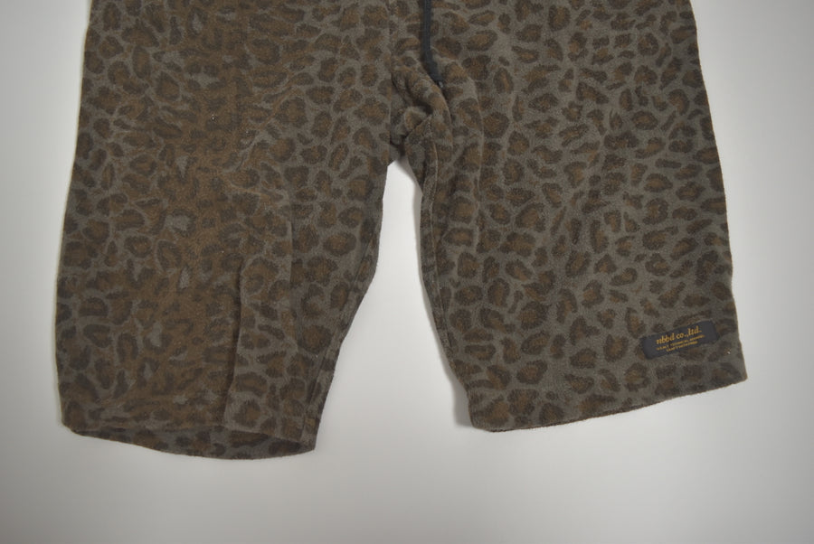 NEIGHBORHOOD / Pile Leopard Easy Short Pants