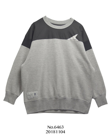 Descendant / Sporty Bicolor Sweat Shirt