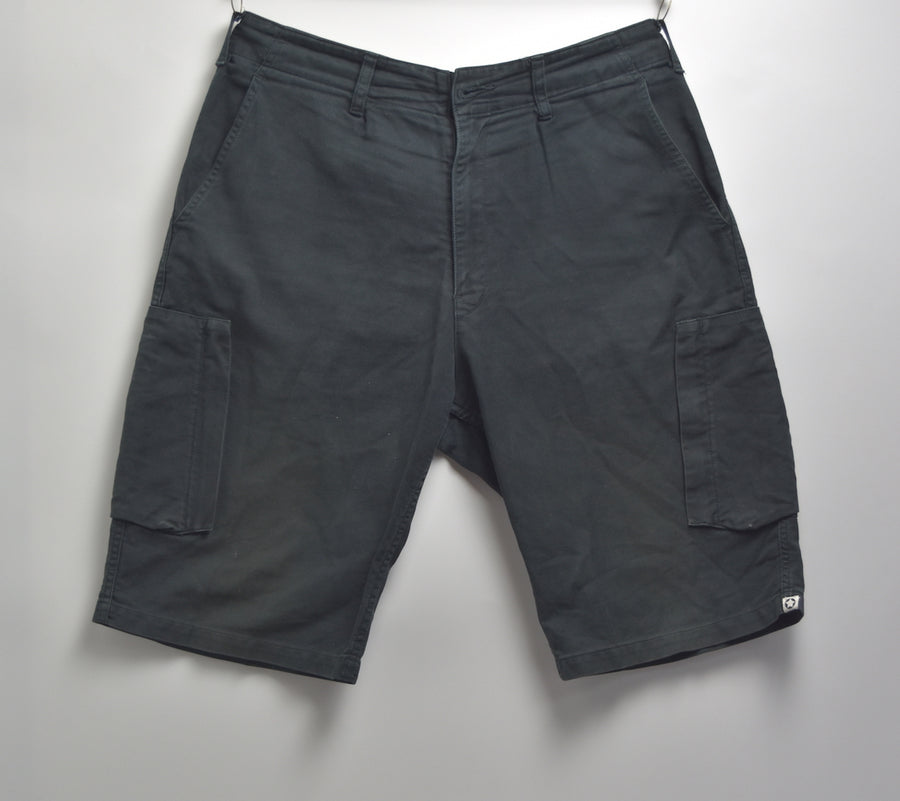 GOODENOUGH / More About Less / Finesse / Black Cargo Short Pants